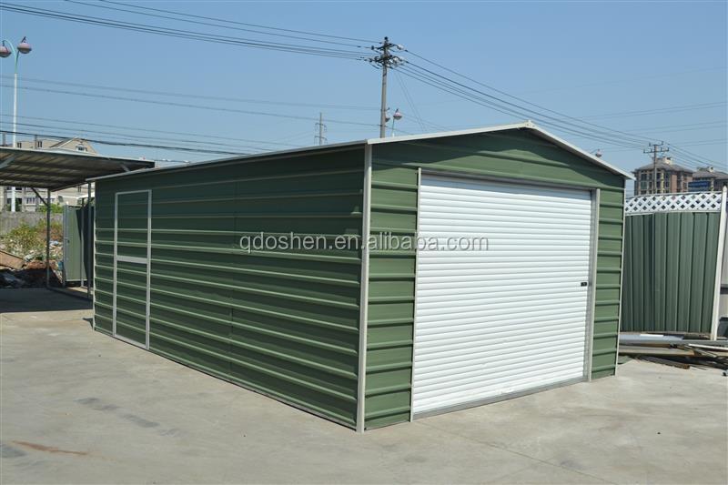 Garaje de metal caseta de jard n metal cobertizo de - Garajes de metal ...