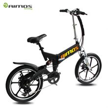 China road hummer 20 inch supsension shock PAS foldable electric bicycle folding electric bike ebike (TDN11Z)