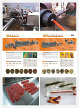 chewing pet food extrusion machine /chewing dog food making machine tel:0531-68823958