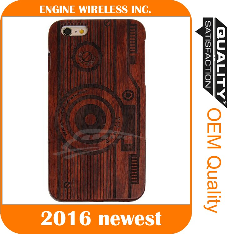 simple mobile phone case,for iphone real wood case,good quality case for iphone 6plus/6s plus