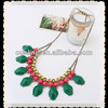Sweety Contrast Color Acrylic Necklace Fashion