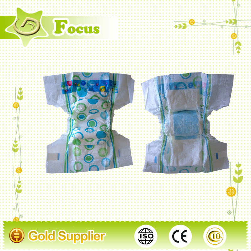 Very cheap disposable baby diaper high waist pant