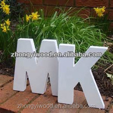2014 hot sale! wooden arts and crafts letters wooden words retail