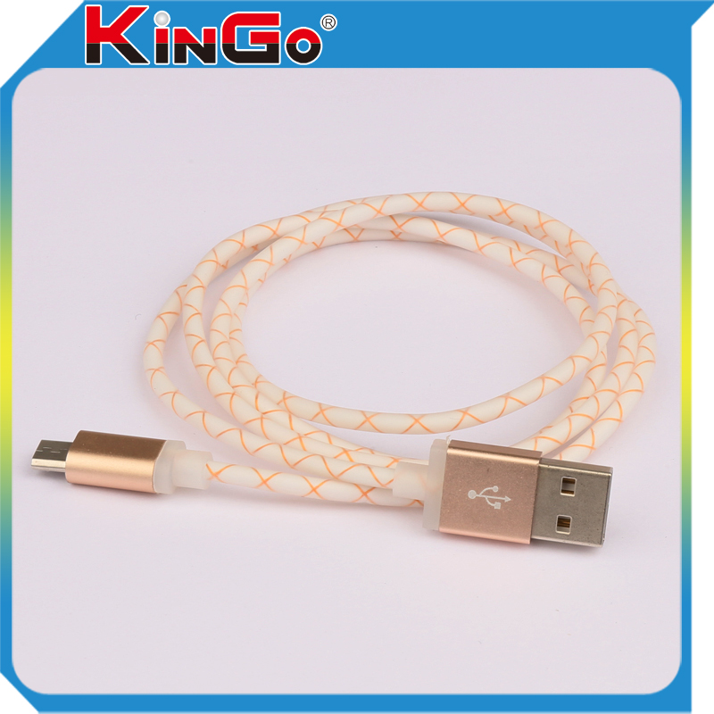 Wholesale Micro USB Cable for Mobile Phone, Low Profile USB to Micro USB Cable