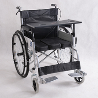 Wholesale Cloth Adjustable Friendly Foldable Wheelchair