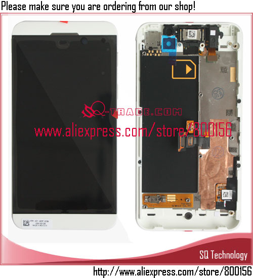1280x768 White Color Lcd With <strong>Touch</strong> <strong>Screen</strong> Digitizer for BlackBerry <strong>Z10</strong> 3G Lcd Display Free Shipping