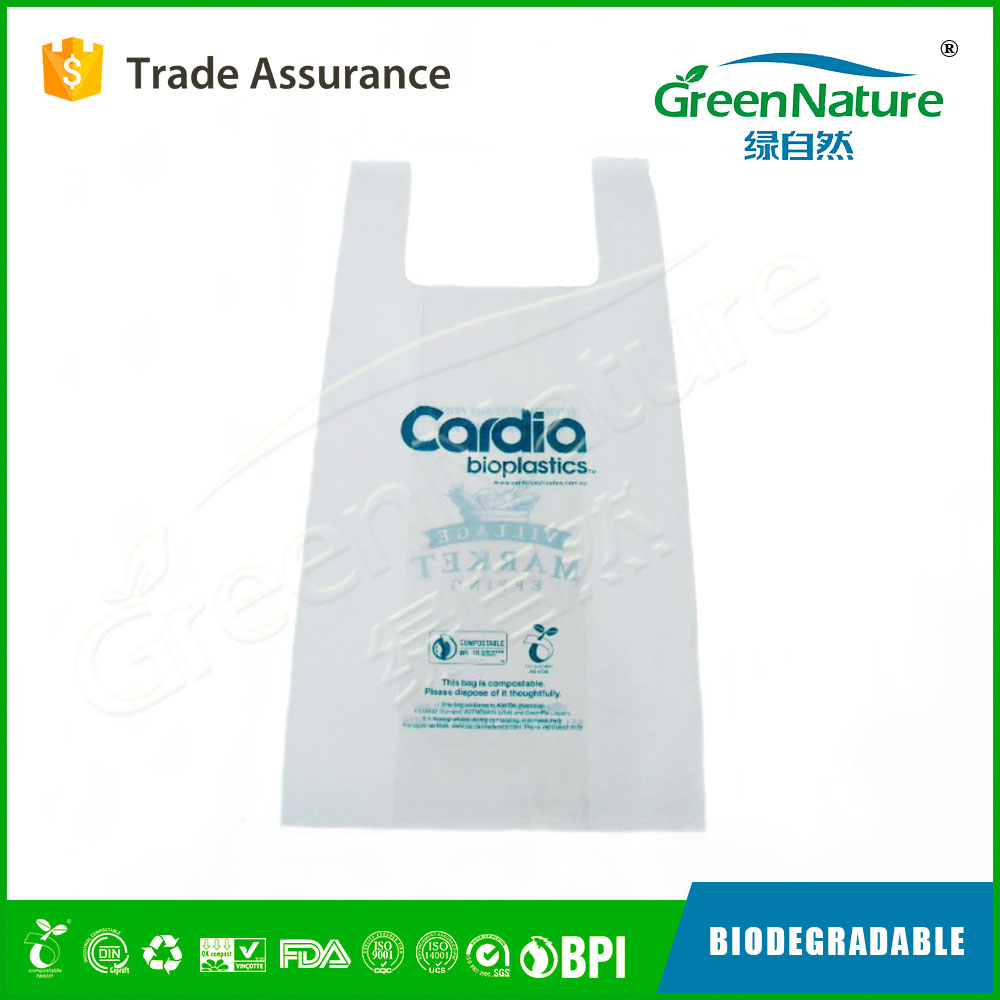wholesale biodegradable die cut plastic carry bag With Long-term Technical Support