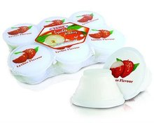 YAME Lychee Pudding with Nata De Coco (110gm)