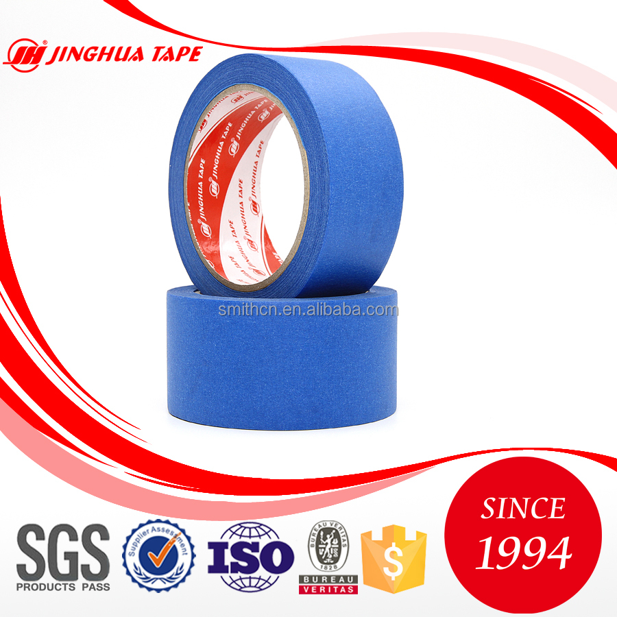 Alibaba jinghua brand UV resistant adhesive paper auto paint masking tape