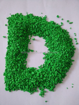 GRASS GREEN EPDM RUBBER GRANULES