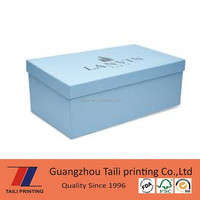 High quality paper nike shoe box wholesale