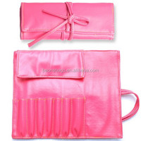 Factory accepted custom pu foldable cosmetic bag asian makeup beauty products