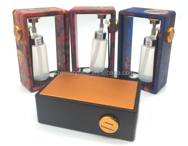 Best selling 2017 squonk box mod Hidra galactika Ontech RD icarus bottom feeder mod