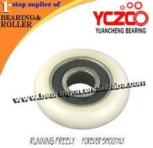 High performance non standard glass shower bath pulley