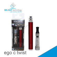 China wholesale delightech ego c twist battery wuth Fast charge, long life time