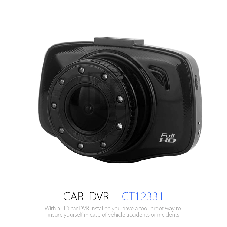 TOGUARD Mini Full HD 1080P Car Blackbox Dash Cam DVR Camera Dashboard Built In G-Sensor Motion Detection Loop Recorder