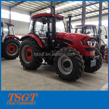 best quality cheapest price factory supply Deutz engine 6 cylinders 180hp farm wheel tractor with luxury cabin aero seat