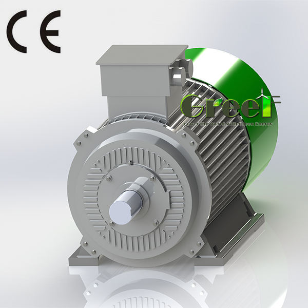 3MW low rpm 3 phase ac permanent magnet synchronous generator alternator