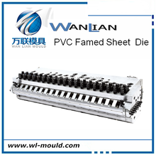 pc sheet die head,wood plastic composite making machinery/extrusion moulds