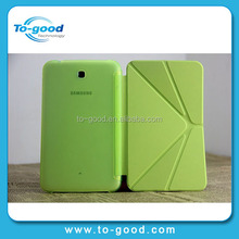 Foldable Smart Cover For Samsung Galaxy Tab 3 7.0 T210 T211 T2100 T2110 P3200,Leather Case For Samsung Galaxy Tablet 3 7.0