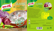 Classic mixed vegetable soup instant soup powder