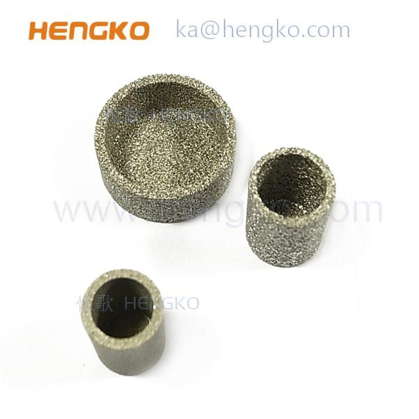 Bronze Titanium Ni Stainless Steel 316L Metal Sintered Resists High Temperature Air Filter