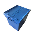 Large capacity 172L heavy duty attached lid plastic storage box for sale