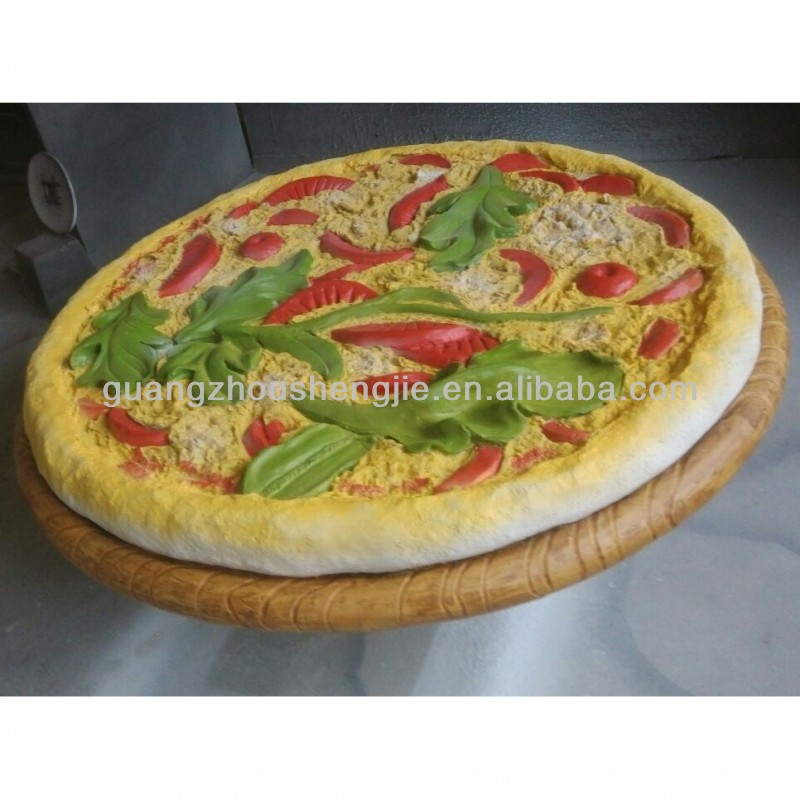 Artificial Pizza FRP Pizza Plastic Pizza Artificial Food