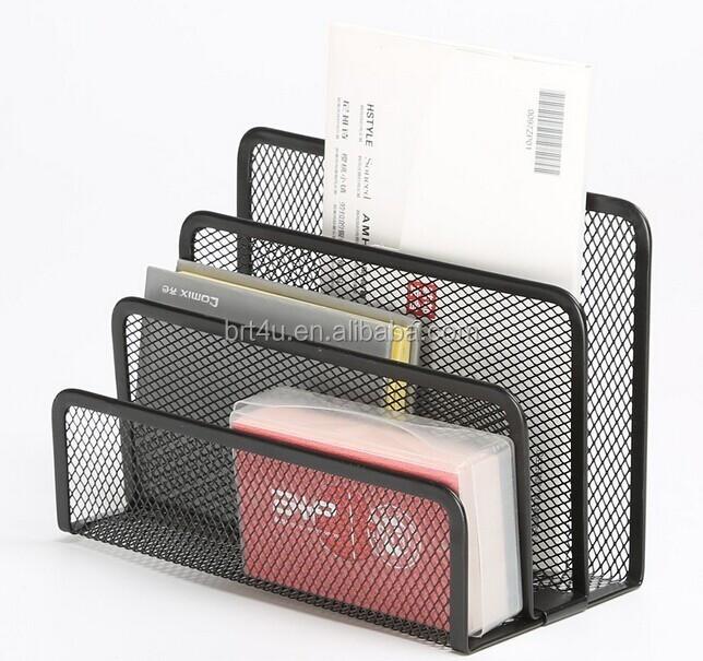 Desk mesh collection metal desk organizer buy metal desk - Wire desk organizer ...