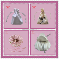 Various Fabric Gift Pouch Packing Bag Custom Design Factory Production