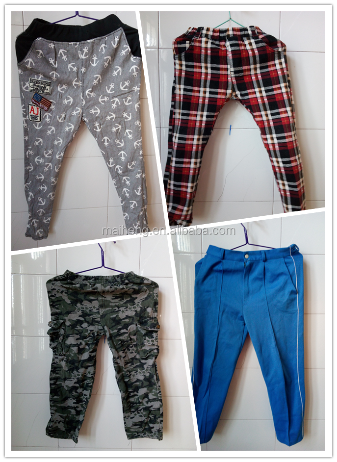 wholesale used clothes used clothing /second hand pants