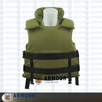 Waterproof floating body armor