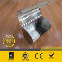 Bathroom stainless steel toilet paper box