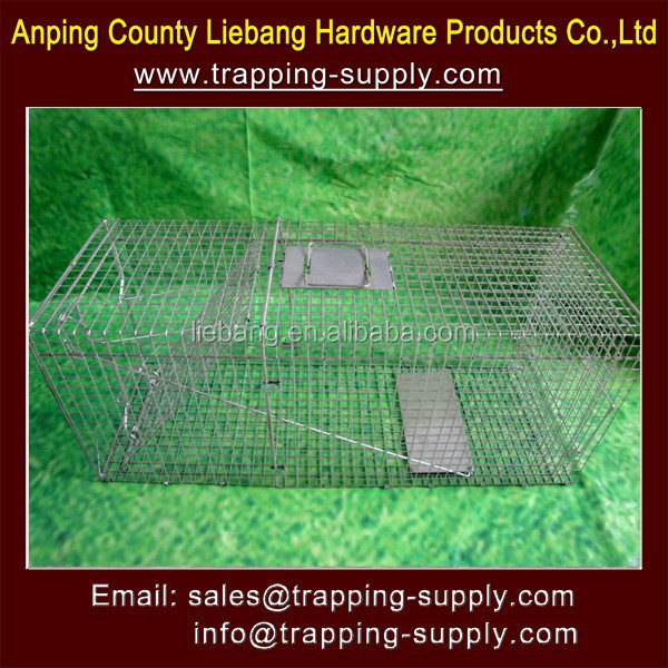 Live Animal Catcher Dog Trap Cage New China Products For Sale
