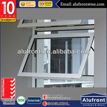 Manual blinds and security mesh with chain winder aluminium awning / top hung window