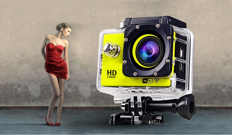 2.0 Inch 30M Waterproof Full hd 1080P WIFI Sport Camera LINTON4248 GC1004 Action camera
