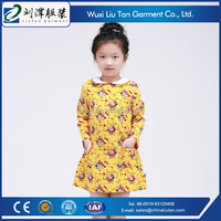 breathable flower 3 year old girl dress oem factory