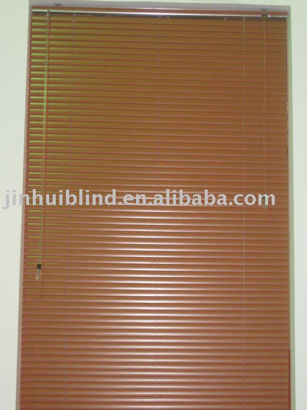Madera color aluminio persiana veneciana postes railes y - Persiana veneciana de aluminio ...
