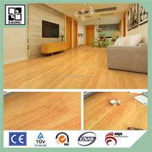 Anti-slip backing Glueless concrete original light brown Luxury vinyl Loose-Lay pvc flooring