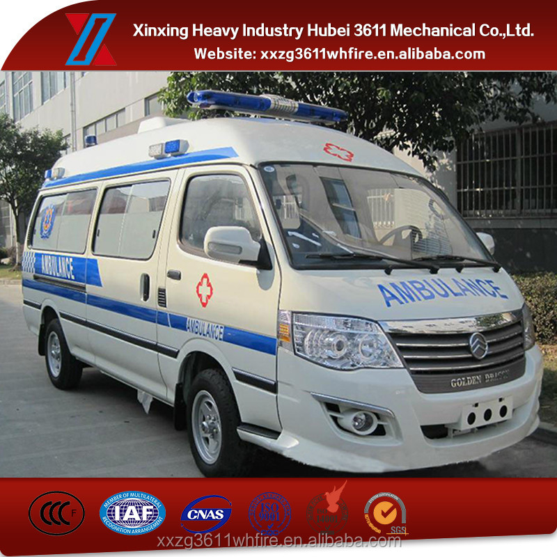 Top Selling New Manual Used Ambulance For Sale