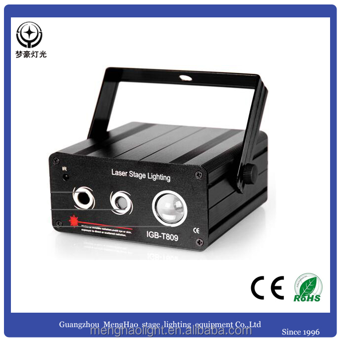 Guangzhou indoor dj lighting mini laser stage pattern light for KTV , club , party