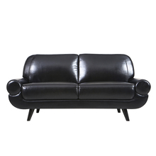 Germany moderm two seater chesterfield leather sofa design