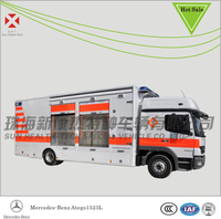 Mercedes-Benz Atego1523L Emergency Rescue Ambulance,Transfer Ambulance, Mobile Hospital Vehicle