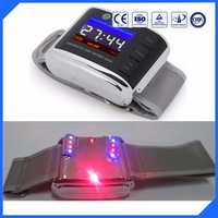 LASPOT new design red and blue laser therapy watch