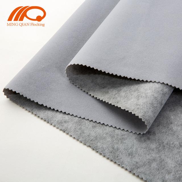 Home Textile Velvet Flock Fabric Chitin Spunlace Non-Woven Supplier