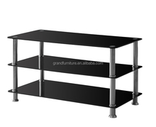 Hot sale mordern glass TV stand for living room