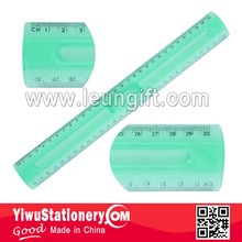 30cm plastic ruler with handle