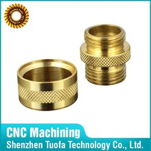 CNC Manufacturing Brass Copper Shaft Protecting Sleeves