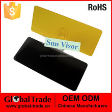 Car Black Sun Visor.Universal Auto Car Flip Down Shield Sun Visor . A1302.