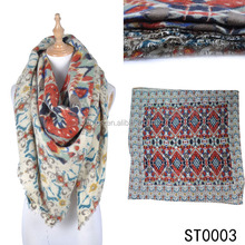 TOROS Multiple Colors Cashmere Pashmina feel 100% acrylic scarf